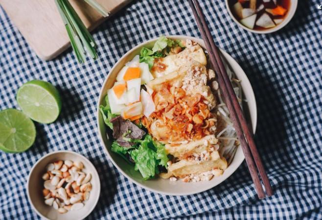 pho dish in Saigon vietnam